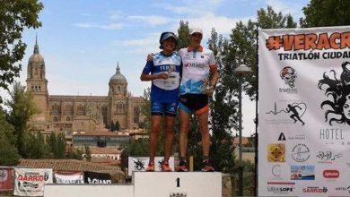 """Photo of María José García """"Pepa"""" gana su categoría en el triatlón de Salamanca"""