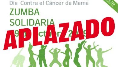 Photo of Aplazado el Zumba Solidario organizado por la AECC de Benavente