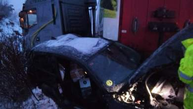 Photo of Dos heridos en un brutal accidente en la A-52 dirección Benavente