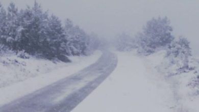 Photo of La nieve llega a Sanabria produciendo restricciones en el tráfico