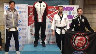 Photo of Fernando Espinal se alza con el bronce en el IV Open Internacional de Taekwondo