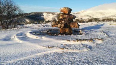 Photo of Efectivos de la Diputación trabajan para despejar la nieve en el acceso al Alto de Vizcodillo