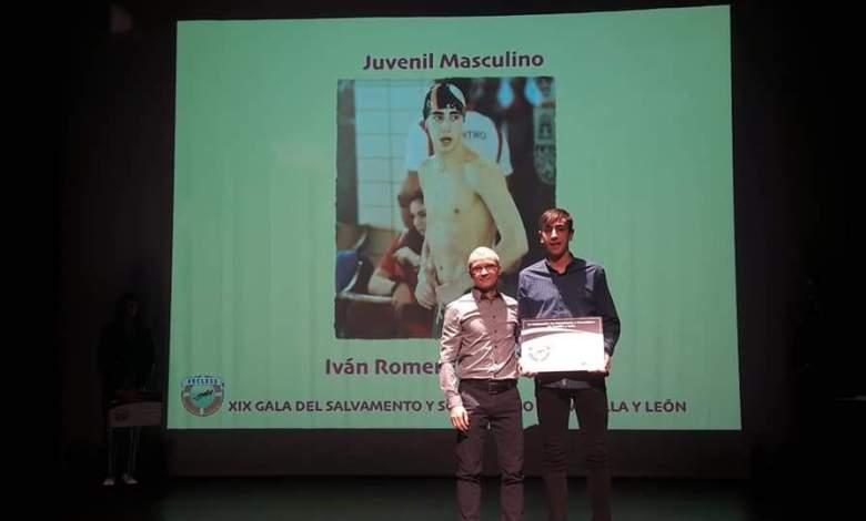Photo of Iván Romero premiado como mejor socorrista juvenil de Castilla y León