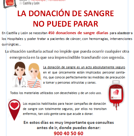 Photo of Sanidad hace un llamamiento para donar sangre «porque el sistema sanitario lo necesita»
