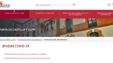 Photo of La Junta facilita en una misma página web todas las ayudas por el COVID-19