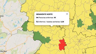 Photo of La Zona de Salud Benavente Norte vuelve a ser zona amarilla