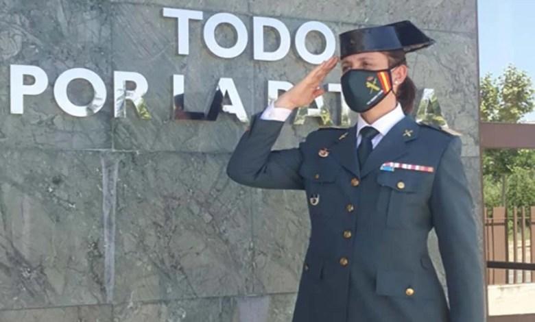 Photo of Ana Katia Pérez, sargento primero de la Guardia Civil   llega a Zamora