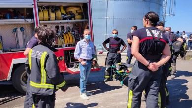 Photo of VIDEO: Bomberos del parque de Rionegro del Puente participan en un simulacro de evacuación en un accidente del AVE