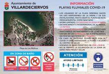 Photo of Villardeciervos autoriza el baño en las playas de Cional y Los Molinos