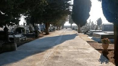 Photo of Las obras en el cementerio municipal de Benavente, a punto de concluir