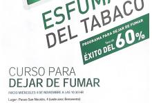 Photo of La asociación contra el cáncer organiza un curso para dejar de fumar