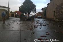 Photo of Un tornado en Quintanilla de Urz se lleva por delante varios tejados de casas