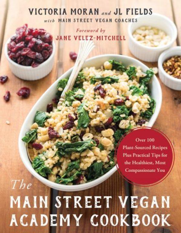 The Main Street Vegan Academy Cookbook cover