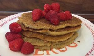 gluten free dairy free egg free vegan pancakes image