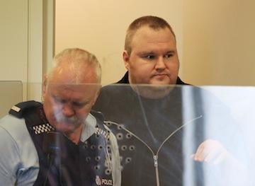kim dotcom schmitz megaupload sala sądowa rozprawa areszt