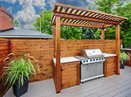 Design and build contractors   outdoor cooking area