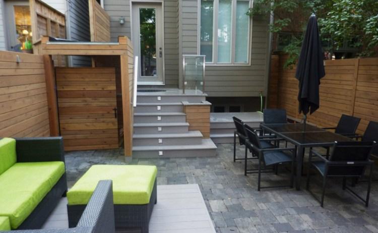 Urban backyard design and build