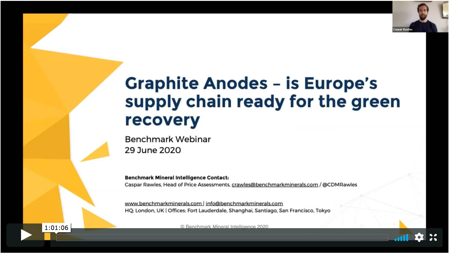 Graphite Anodes: Building a 21st Century Supply Chain in Europe