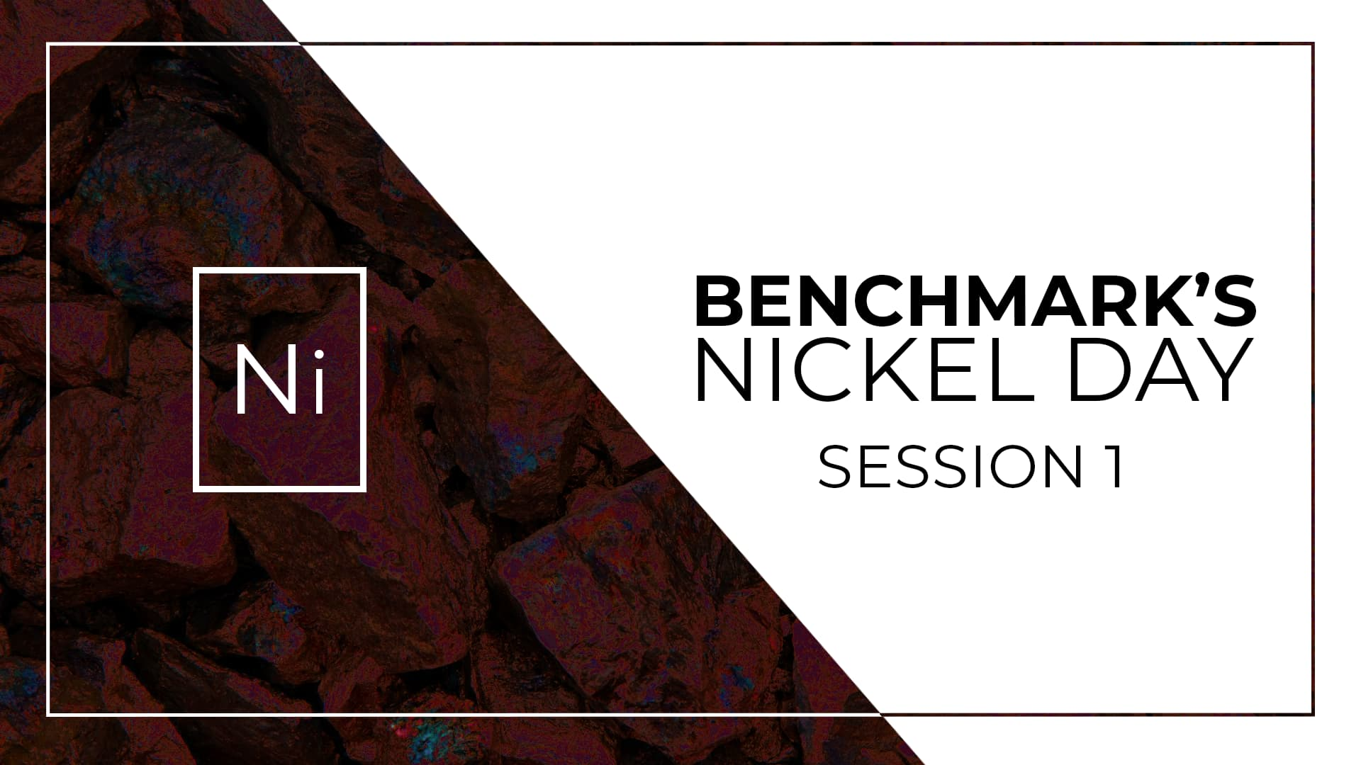 Nickel Day Online Session 1