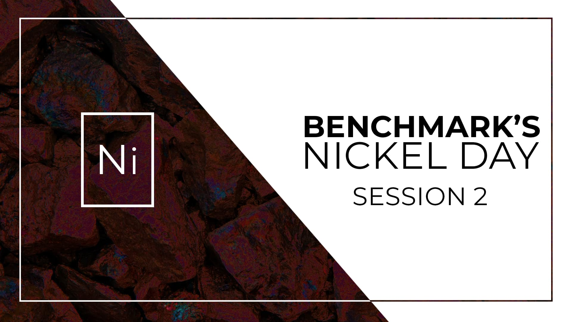 Nickel Day Online Session 2