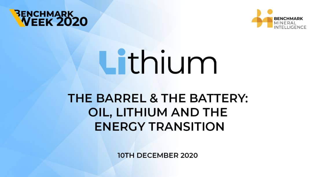 The Barrel & The Battery; Oil, Lithium and the Energy Transition