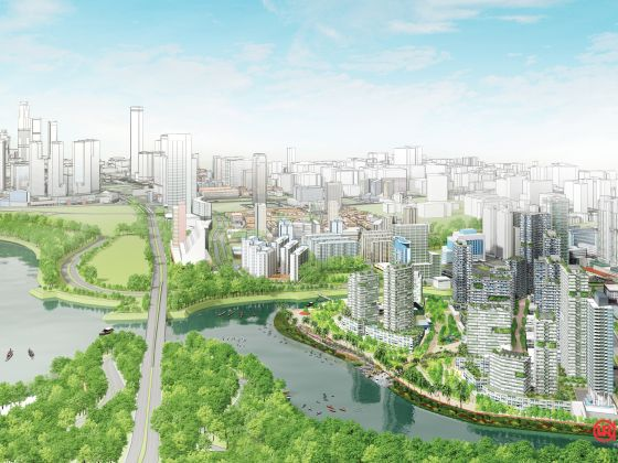 Kampong Bugis will be developed into an attractive residential precinct that is car-lite, people-centric and sustainable