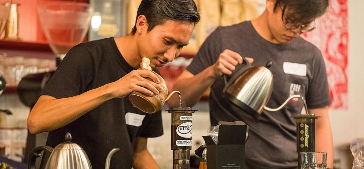Get Caffeinated at the bay this weekend