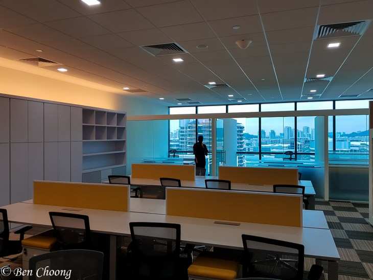Fully fitted office space at Vision Exchange