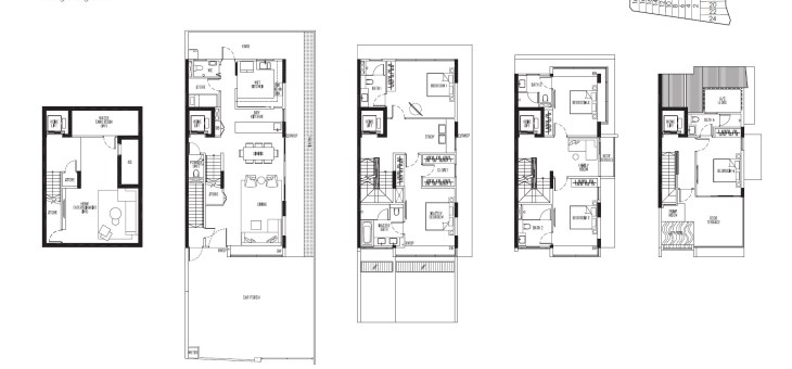 Choice layouts to choose from at Kismis Residences