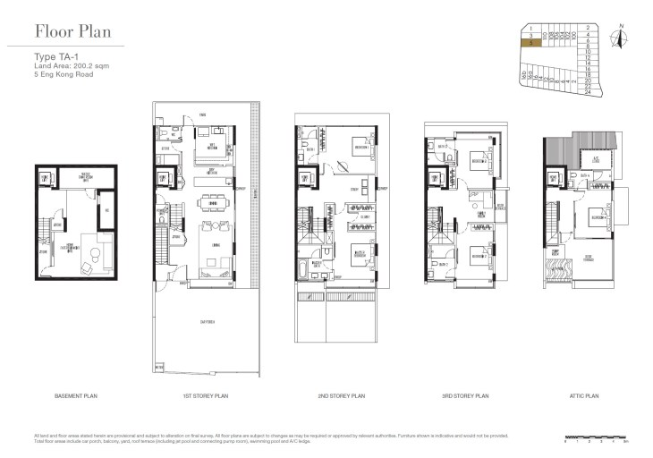 Kismis Residences Floor Plans