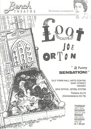 Loot Written by Joe Orton