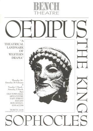 Oedipus The King Written by Sophocles