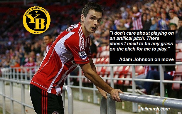 Adam Johnson Set To Move To Swiss Club, Young Boys.