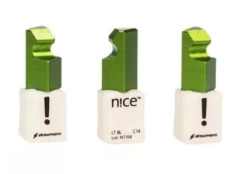 Straumann n!ce blocks for dental milling machines