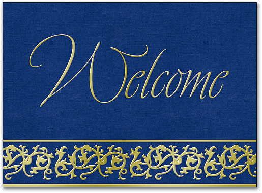 Dental Welcome Folding Cards Benco