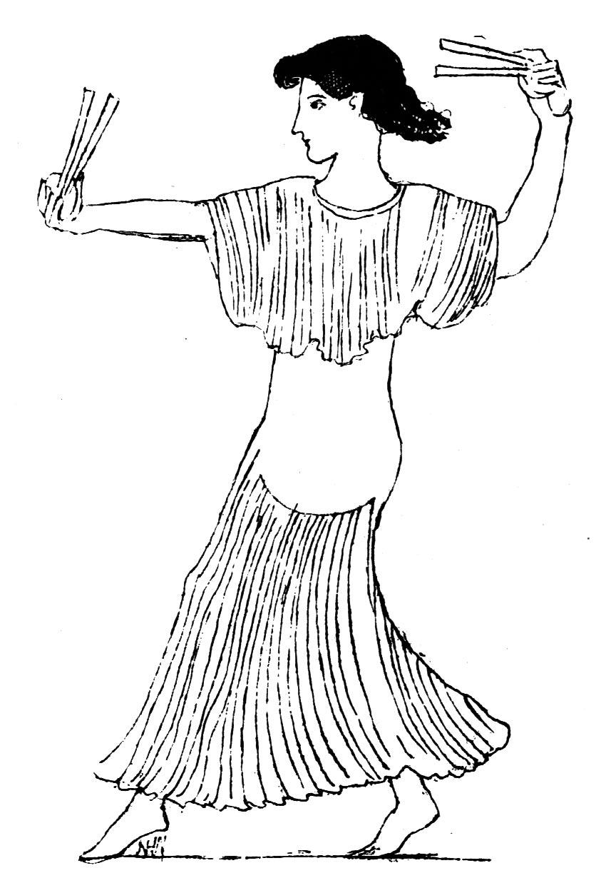 ancient greek dancing