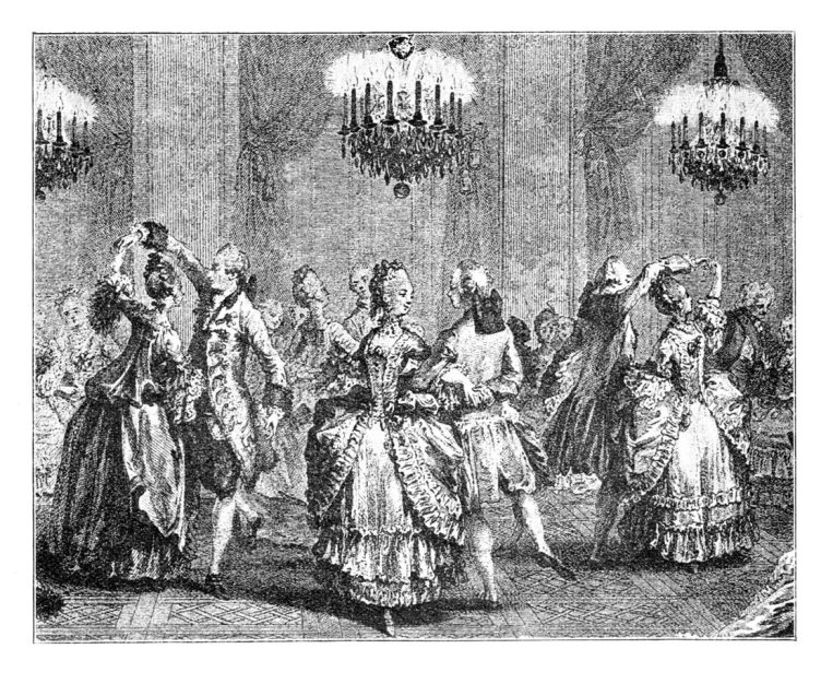 18th Century Dancing - WHS HBL Jane Austen