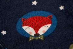Frechdachshose mit Fuchs (Detail)