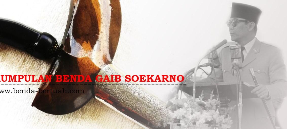 Kumpulan Benda Gaib Soekarno