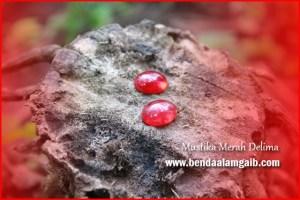 Batu Mustika Bertuah Mustika Merah Delima
