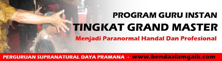 Program Guru Instan Tingkat Grand Master - Ilmu Instan