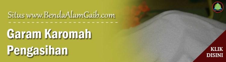 Produk Spiritual Mustika - Garam Karomah Pengasihan - Benda Alam Gaib
