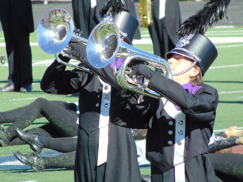 high school marching band