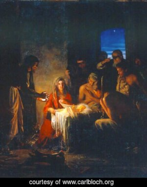The Birth of Christ - Carl Bloch