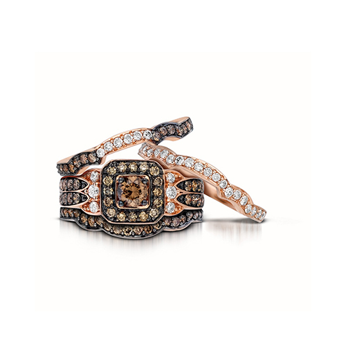 Attractive wedding rings: Levian wedding ring sets