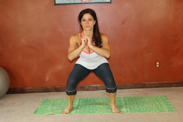 Squatting Side Leg Lift: Part 1