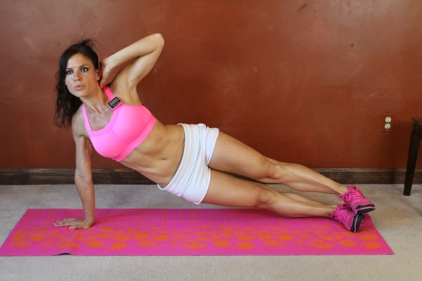 Side Plank Hip Lift: Part 2