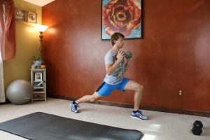 Runner's Lunge Crunch: Part 1