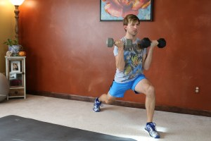 Lunge Curl & Press: Part 2