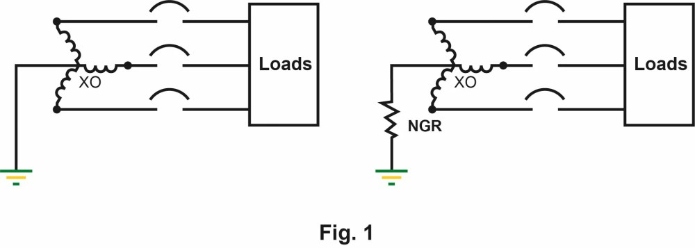 medium resolution of grounding system with without ngr